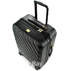 19V69 Italia Arrow 3 Piece Expandable Spinner Luggage Set