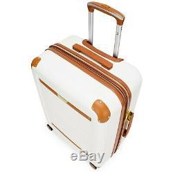 19V69 Italia Vintage 2 Piece Expandable Hard Shell Spinner Luggage Set (20/24)