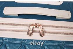 2-Pcs Jessica Simpson Hardside Spinner Suitcase Luggage Set