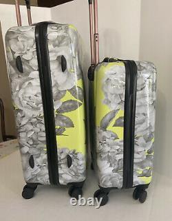 2-Pcs Jessica Simpson Hardside Spinner Suitcase Luggage Set (20 & 25)