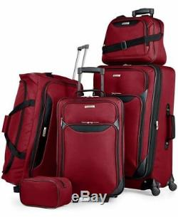 $200 NEW TAG Travel-Collection Springfield III 5 PC Suitcase Luggage Set Spinner