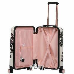 Aerolite 55cm Hard Shell 4 Wheel Travel Hold Luggage Cabin Bag Cases Black