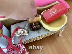 American Girl Doll Grand Hotel & Truly Me Travel In Style Rolling Luggage Set
