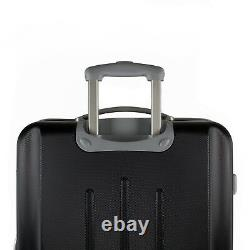 American Green Travel 3-PC Hardside Spinner Luggage Set with TSA Lock Black