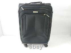 American Tourister 3-Pc Set Pop Max Softside Luggage w Wheels, Black, 21/25/29
