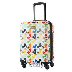 American Tourister Disney 2-piece Hardside Carry-On Luggage Set, Mickey Mouse