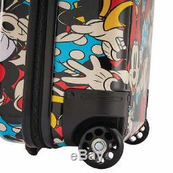 American Tourister Disney Carry On Luggage 2-piece Set, Minnie Mouse (1993)
