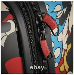 American Tourister Disney Roll Aboard Luggage 2 Piece Set. Mickey mouse Design