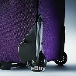 American Tourister Luggage Fieldbrook II 3 Piece Set Purple/Grey