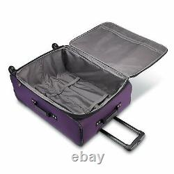 American Tourister Pop Max 3 Piece Luggage Spinner Set 29/25/21(Purple)