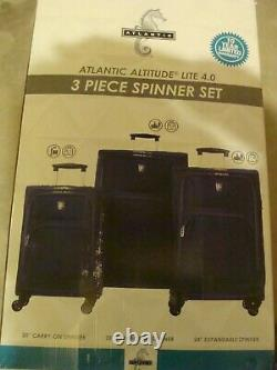 Atlantic Altitude Lite 4.0 lightweight 3 Piece Spinner Luggage Set