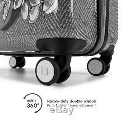 BADGLEY MISCHKA Essence 3 Piece Hard Spinner Luggage Set (Herringbone)