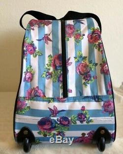 BETSEY JOHNSON Hummingbirds 20 Hardside Carry-On Spinner Suitcase & Duffle Set