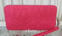 Betsey Johnson Floral Tote Weekender Set Travel Bag 3 pc Cosmetic & Wallet NWT