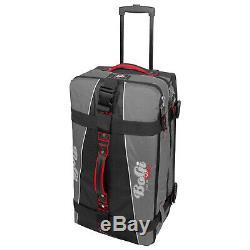 BoGi Bag Trolley 3er-Set Reisetaschen Koffer 40 L + 85 L + 110 L Grau /Schwarz