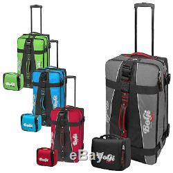 Bogi Bag Set Reisetasche 85 L + Waschtasche Trolley Reisekoffer zur Farbwahl