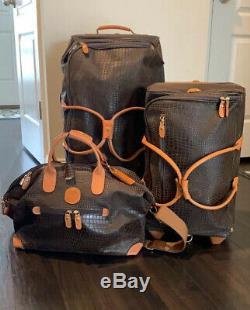 Brics My Safari Life Luggage Set Carry On Rolling Duffel