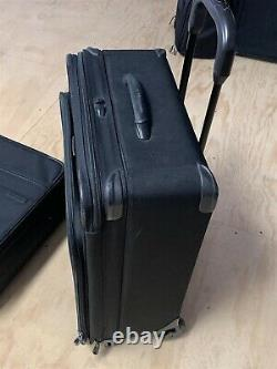 Briggs & Riley Black 2-Piece Rolling Expandable Luggage/Suitcase Set 24 & 20