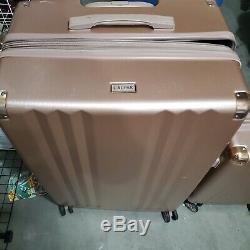 CalPak Ambeur 2 Piece Hardsided Luggage Set Carry-On Rose Gold