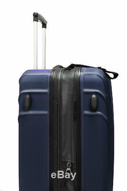 Cape Verde Green 2-Piece Hardside Carry-on Expandable Spinner Roller Luggage Set
