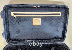 Coach Luggage Set 22 Upright Roller Carry On Suitcase No. 5955 & Weekender Tote