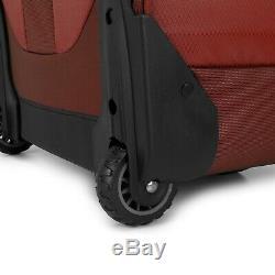 Cross Point Carry-on Ballistic Nylon Wheeled Upright Laptop Backpack Luggage Set