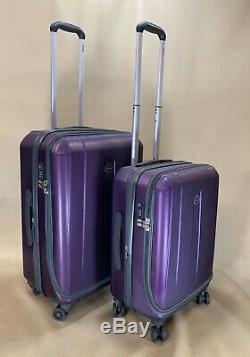 Delsey Paris Helium Shadow 3.0 Set 21 & 25 Spinner Luggage Suitcase Trolley