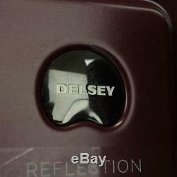 Delsey Reflection 2 Piece Hardside Spinner Luggage Set Burgundy
