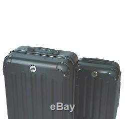 Destination Bags Hardside Spinner Roller Luggage Suit Case Set (QTY 2 Included)
