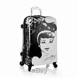 Disney Luggage for Girls Princess Hard side 3Pcs Spinner Set 21, 26, 30