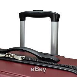 Elite 2-Piece 21 29 Smart USB Port Hardside Expandable Spinner Luggage Set