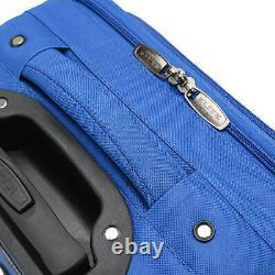Elite Luggage Turin 4-Piece Softside Lightweight Rolling Luggage Set