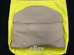 Ferrari 5 Pc Schedoni Sand (beige) Leather Luggage Set! Brand New, Ever Opened