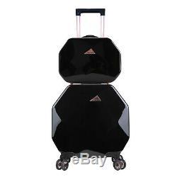 Gemstone 2 Piece Spinner Luggage Set Suitcase