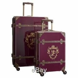 HARRY POTTER Pottery Barn Hard-Sided GRYFFINDOR 2-Piece Spinner Luggage Set