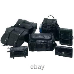 Harley Softail Dyna Deuce Saddlebags Travel Luggage 7pc