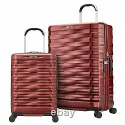 Hartmann Excelsior 2-piece Hardside Set, 100% Polycarbonate Shell, Ruby Red