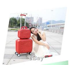 Hello Kitty Trolley High Quality ABS Suitcase Luggage Travel Set-5 Colors