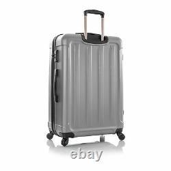 Heys America Frontier 3 Piece Luggage Set Silver
