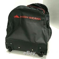 High Sierra 3-Piece Wheeled Duffel Bag Set, 26/30/36, Black 119850-4637