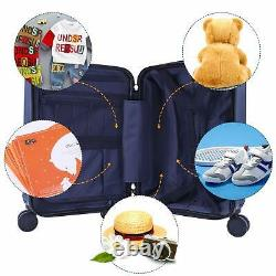 IPlay, iLearn Kids Rolling Luggage Set, 18'' Hard Shell Carry on Suitcase