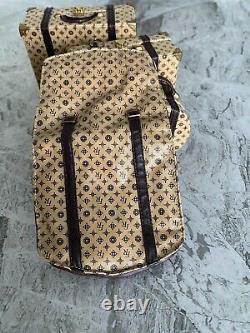 Jason Wu Voyages JET SET Luggage SAND Travel wear #2004 +Garment Bag- ON SALE