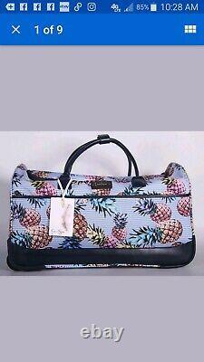 Jessica Simpson Pineapple Luggage Travel Bag Set