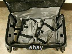Joy Mangano 6 Piece Carry-On Luggage Set COLOR Pewter/Silver BRAND NEW IN BOX