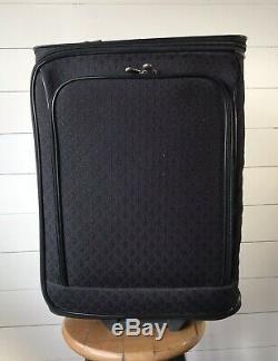 Joy Mangano HSN 2pc. Suitcase Luggage Set, Black Diamond