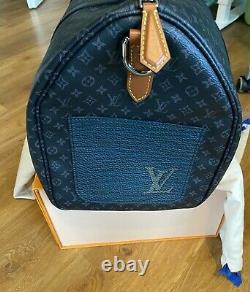 Keepall 50 Limited Edition Neu Full Set Louis Vuitton Original