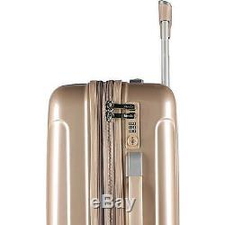 Kensie Luggage 3 PC Expandable Hard Side Luggage Set Rose Gold KN-67903-RG