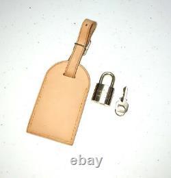 Louis Vuitton Luggage Tag Lock & Key Set