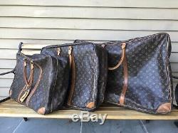 Louis Vuitton Soft Side Luggage Set