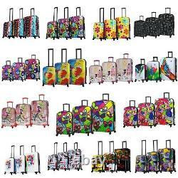 Mia Toro Hard Side Spinner Luggage Set 3 Piece 20, 24 & 28